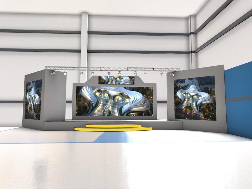 3D Bühne