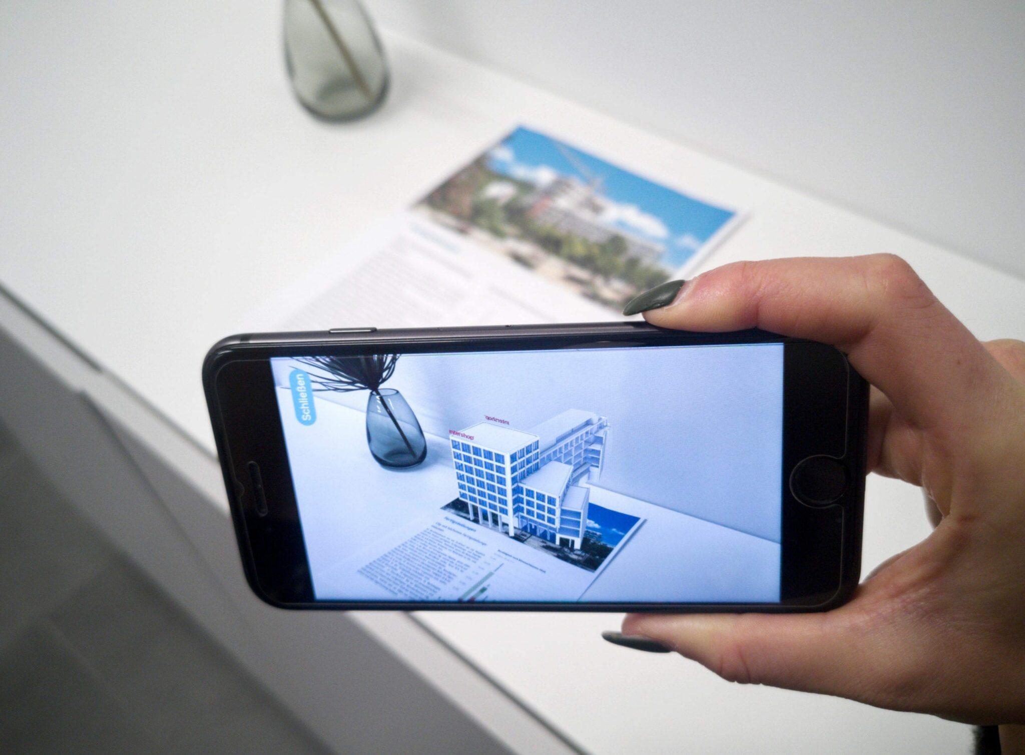 Augmented Reality Projektion