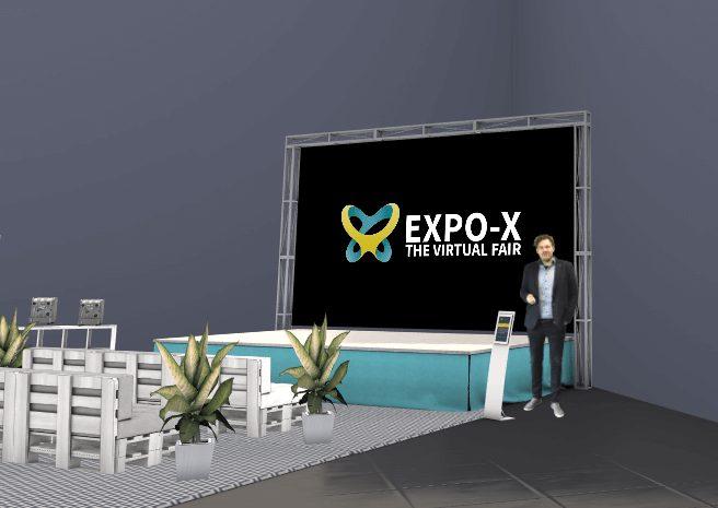 virtuelle Bühne