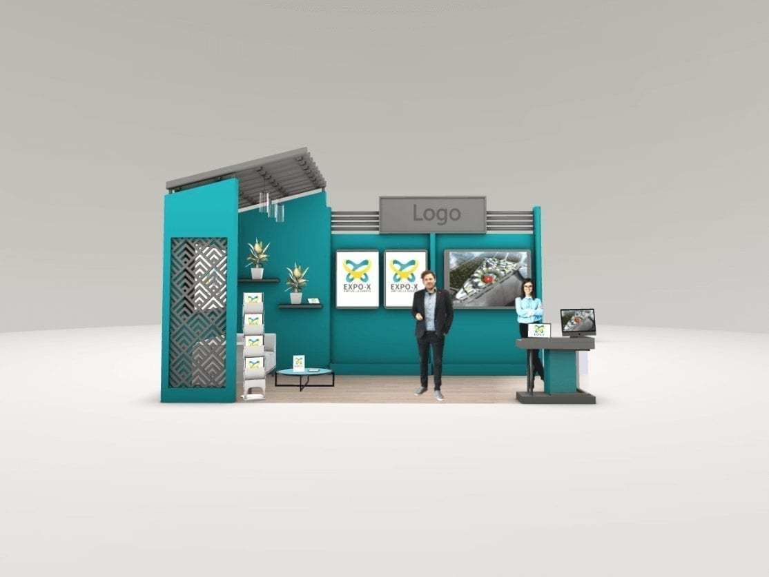 3D Messestand Large