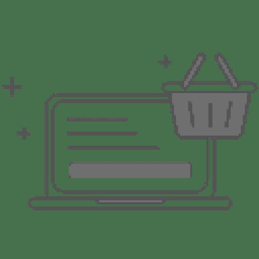 Icon für online Shop